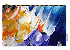 Abstract Series 0615a-6p1 Carry-all Pouch