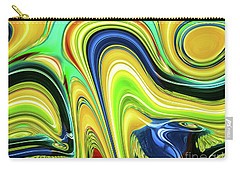 Abstract Series 153240 Carry-all Pouch