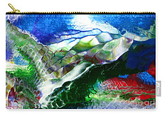 Abstract Series B Carry-all Pouch