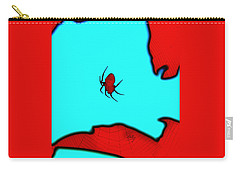 Abstract Spider Carry-all Pouch