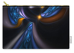 Abstract Stained Glass Angel Carry-all Pouch