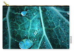 Aqua Abstract Storm In New Orleans Louisiana Carry-all Pouch