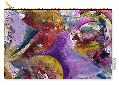 Abstract Sun, Moon And Stars Collide Carry-all Pouch