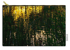Abstract Sunset Reflection Carry-all Pouch