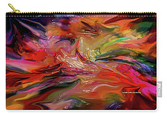 Abstract-the Wild Of The Sea Carry-all Pouch