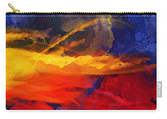 Abstract - Throw  Carry-all Pouch