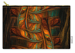 Abstract Totem Carry-all Pouch