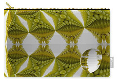Abstract Tunnel Of Yellow Grapes  Carry-all Pouch