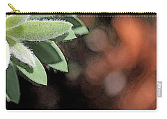 Carry-all Pouch featuring the photograph Abstract Watercolor by Judy Vincent