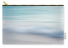 Carry-all Pouch featuring the photograph Abstract Wave Photograph by Ivy Ho