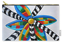 Abstract Windmill  Carry-all Pouch
