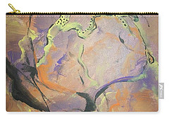 Carry-all Pouch featuring the painting Abstract Woman by Raymond Doward