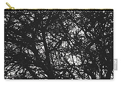 Carry-all Pouch featuring the mixed media Abstract X by Chriss Pagani