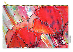 Abstracted Poppies No.2 Carry-all Pouch