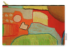 Abstraction123 Carry-all Pouch by Paul McKey