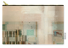 Carry-all Pouch featuring the digital art Abstractitude - C01b by Variance Collections