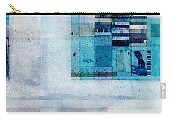 Carry-all Pouch featuring the digital art Abstractitude - C02v by Variance Collections