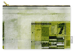 Carry-all Pouch featuring the digital art Abstractitude - C4bv2 by Variance Collections