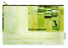 Carry-all Pouch featuring the digital art Abstractitude - C4v by Variance Collections
