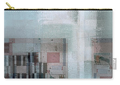 Carry-all Pouch featuring the digital art Abstractitude - C7 by Variance Collections