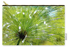 Abstrct Grass Carry-all Pouch