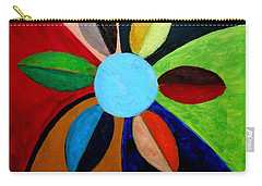 Colorful  Daisie Carry-all Pouch