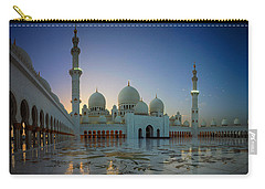 Abu Dhabi Grand Mosque Carry-all Pouch by Ian Good