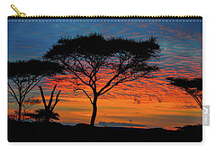 Acacia Surnise On The Serengeti Carry-all Pouch