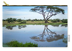 Acacia Tree Reflection Carry-all Pouch