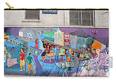 Academy Street Mural Carry-all Pouch