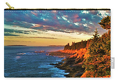 Acadia At Dawn Carry-all Pouch