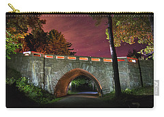 Acadia Carriage Bridge Under The Stars Carry-all Pouch