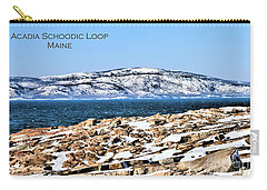 Carry-all Pouch featuring the photograph Acadia National Park by Debbie Stahre