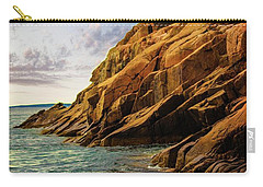 Acadia National Park--maine Carry-all Pouch by Sherman Perry
