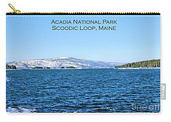 Carry-all Pouch featuring the photograph Acadia Titled by Debbie Stahre