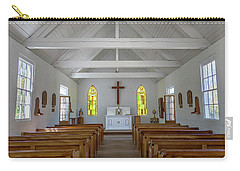 Acadian Village Church Carry-all Pouch