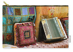 Accordion  With Colorful Pillows Carry-all Pouch