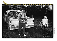 Accordion Scrapper Man  Carry-all Pouch by Peter Gumaer Ogden
