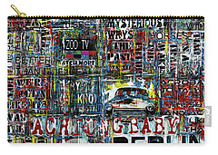 Achtung Baby Carry-all Pouch by Frank Van Meurs