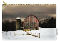 Carry-all Pouch featuring the photograph Acorn Acres by Julie Hamilton