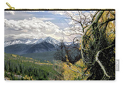 Carry-all Pouch featuring the photograph Acorn Creek Trail by Jim Hill