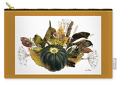 Acorn Squash Bouquet Carry-all Pouch by Lise Winne