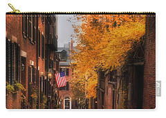 Acorn St. Carry-all Pouch by Joann Vitali