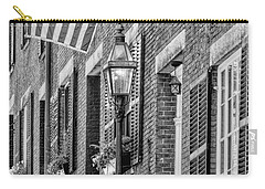 Acorn Street Details Bw Carry-all Pouch