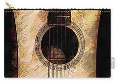 Carry-all Pouch featuring the photograph Acoustic Design by John Stuart Webbstock