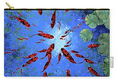 Acqua Azzurra Carry-all Pouch by Guido Borelli