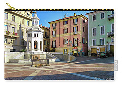 Acqui Terme...italy Carry-all Pouch by Jennie Breeze