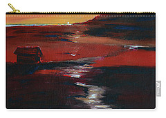 Across Amber Fields To The Sea Carry-all Pouch by Donna Blackhall