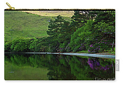 Carry-all Pouch featuring the photograph Across From Kylemore Abbey by Patricia Griffin Brett