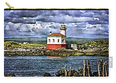 Across From The Coquille River Lighthouse Carry-all Pouch